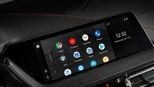 Автомобилите BMW Group с Android Auto от 2020 г.