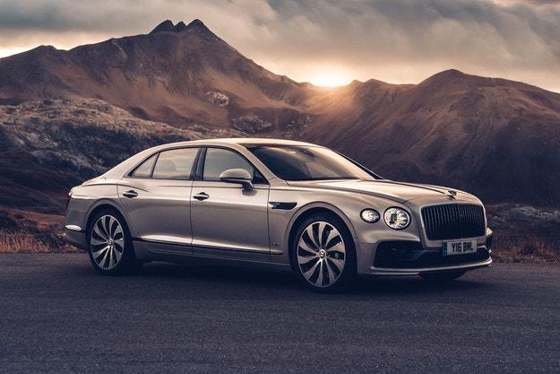 Diamond Knurling за Bentley Flying Spur