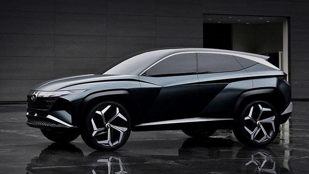 Hyundai Vision T предвещава по-голям Tucson
