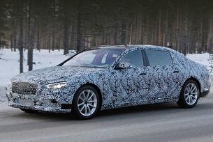 Mercedes-Maybach тръгна на пътни тестове