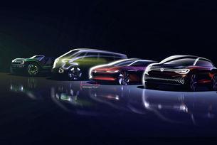 Volkswagen ще представи 34 нови модела през 2020