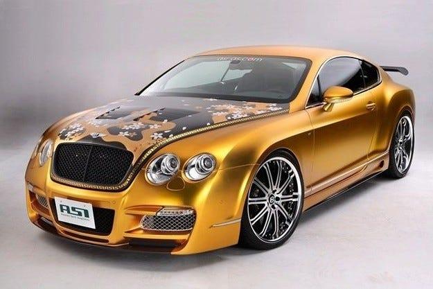 TSI Bentley Continental GT