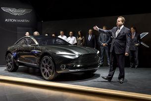Големи очаквания за Aston Martin DBX