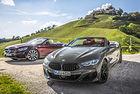 BMW M850i Cabriolet, Mercedes S 560: Стълби към небето