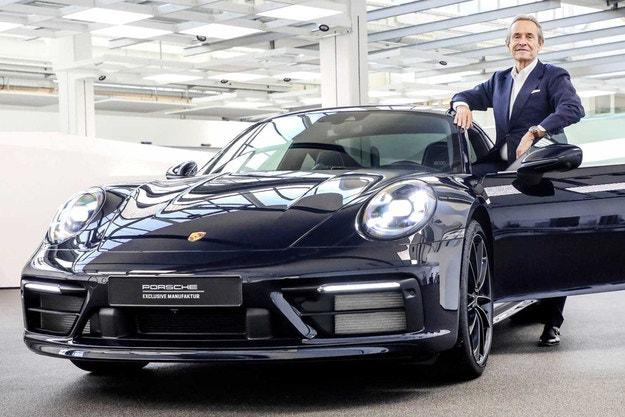 Първо специално издание за 2020 г. на Porsche 911 (992)