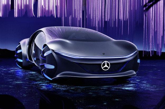 Mercedes-Benz разкри футуристичия Vision AVTR