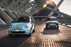 Хибридите 500 и Panda са първите в гамата на Fiat