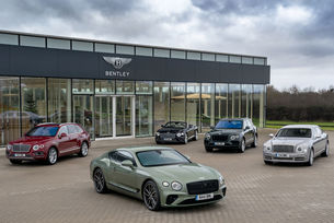 Bentley продаде 11 000 автомобила през 2019