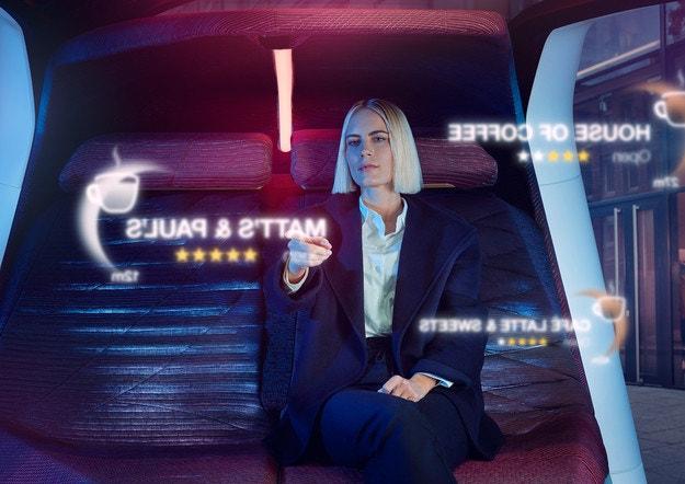 Автономният автомобил BMW ще разпознава погледите