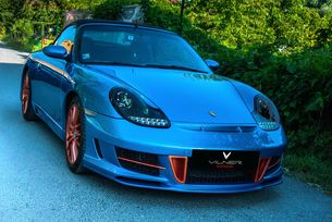 Vilner направи най-смелия интериор за 911 Cabriolet