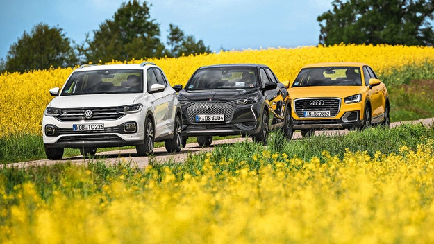 Audi Q2, DS 3 Crossback, VW T-Cross