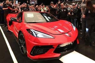 Продадоха първия Chevrolet Corvette за 3 млн. долара
