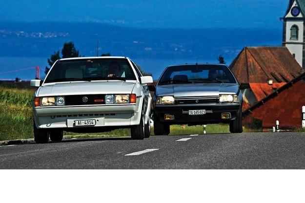 Renault Fuego Turbo и VW Scirocco II
