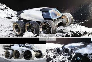 Виждане в бъдещото: Lexus кацна на Луната