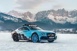 Специален Bentley Continental GT за GP Ice Race