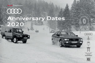 Audi Tradition: Много чествания през 2020 г.