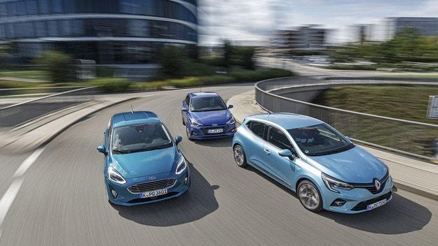 Ford Fiesta, Hyundai i20, Renault Clio