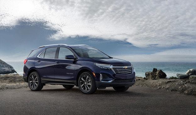 Обновиха Chevrolet Equinox главно отвън
