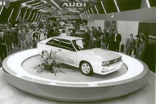 Audi празнува 40 години на quattro моделите