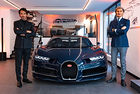 Нов търговски център на Bugatti в Париж