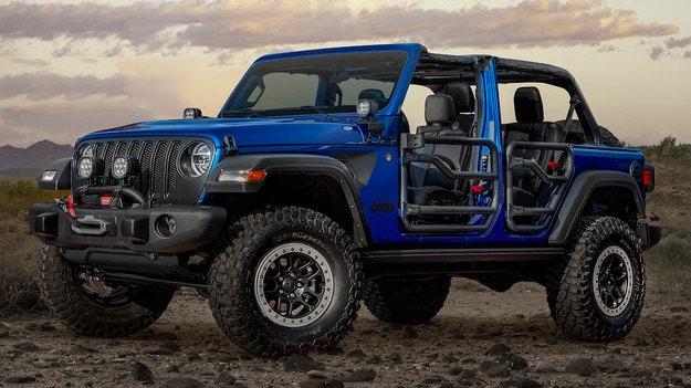 Jeep Wrangler получи офроуд версия JPP 20