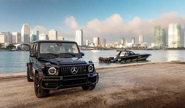 Mercedes представи катер с 2700 к.с. в стил G-класа