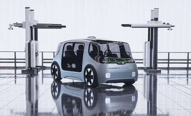 Jaguar Land Rover обяви автономен Project Vector
