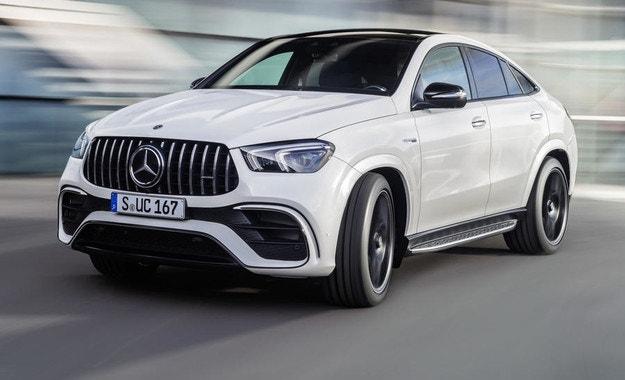 Mercedes представи най-мощния и най-бърз GLE Coupe