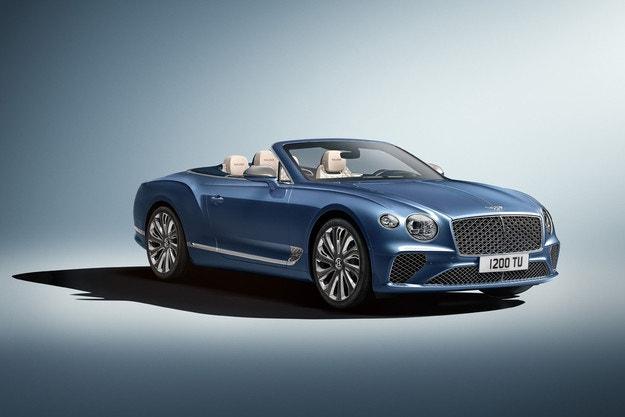 Bentley Continental GT Convertible с версия Mulliner