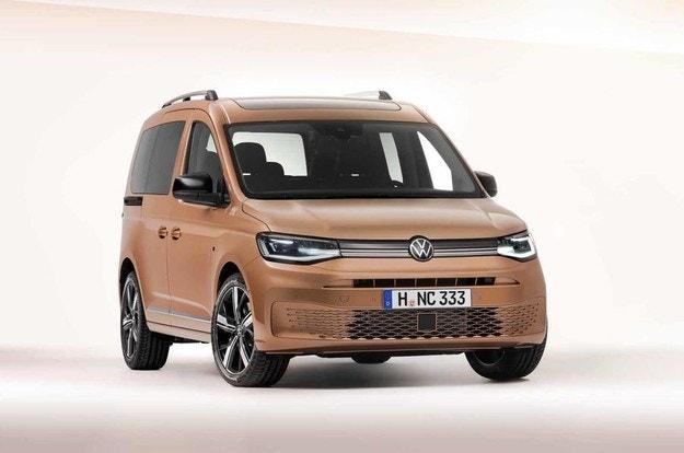 Разсекретиха новия Volkswagen Caddy предсрочно