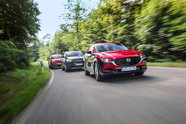 Citroen C5 Aircross, Mazda CX-30, Opel Grandland X