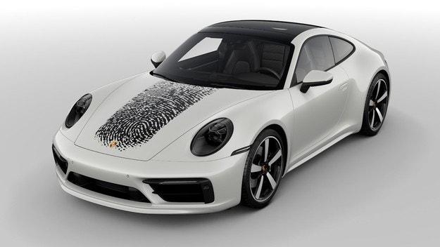 Porsche толкова личен, колкото и пръстов отпечатък