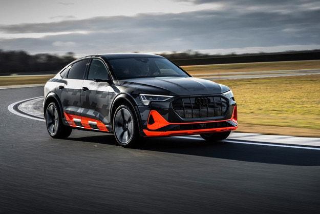 Версия S за Audi e-tron и e-tron Sportback