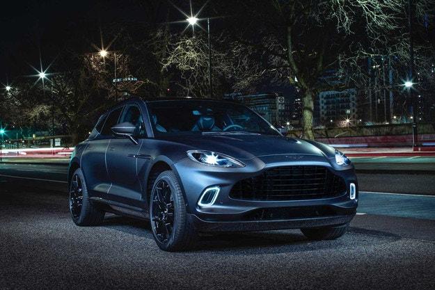 Q by Aston Martin се интересува от кросоувъра DBX