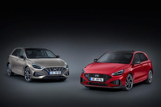 Обновената фамилия на Hyundai i30 с умерени хибриди