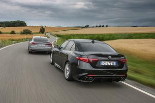 Alfa Romeo Giulia Quadrifoglio  vs. Audi RS 5 Sportback