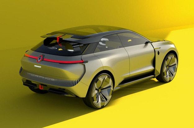 Renault представи електрически кросоувър трансформър