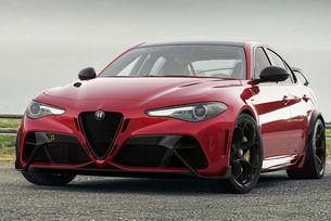 Най-мощната Alfa Romeo Giulia е по-лека и бърза