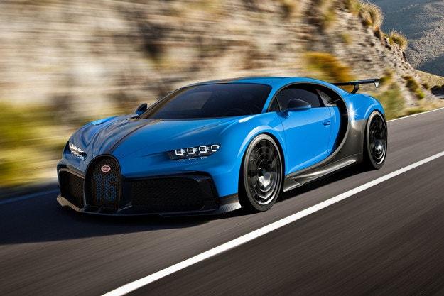 Bugatti Chiron Pur Sport: 60 екземпляра