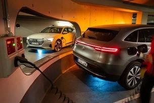 Audi e-tron vs. Mercedes EQC