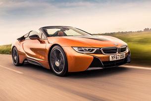Край на хибридния автомобил BMW i8 през април