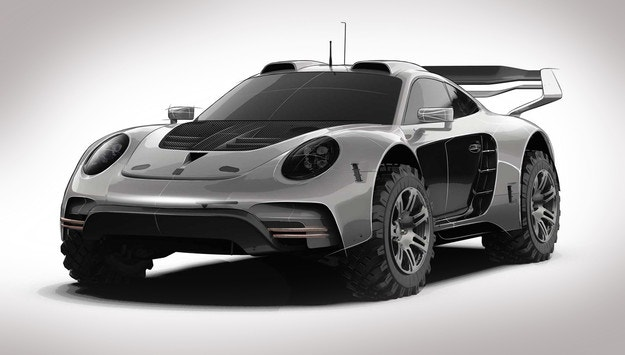 Ателието Gemballa готви офроуд Porsche 911