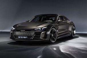 Audi ще покаже серийния e-tron GT в Лос Анжелис