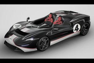 McLaren Elva M1A Theme by MSO припомня историята
