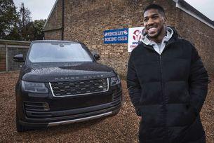 Антъни Джошуа избра Range Rover SVAutobiography