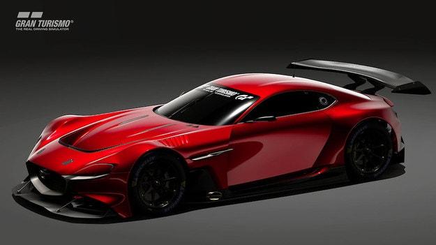 Mazda показа виртуалния RX-Vision GT3 Concept