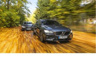 Jaguar XE P250 и Volvo S60 T5