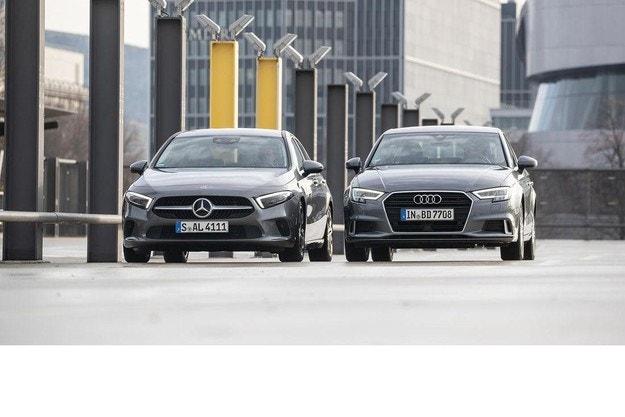 Audi A3 35 TDI и Mercedes A 200 D7