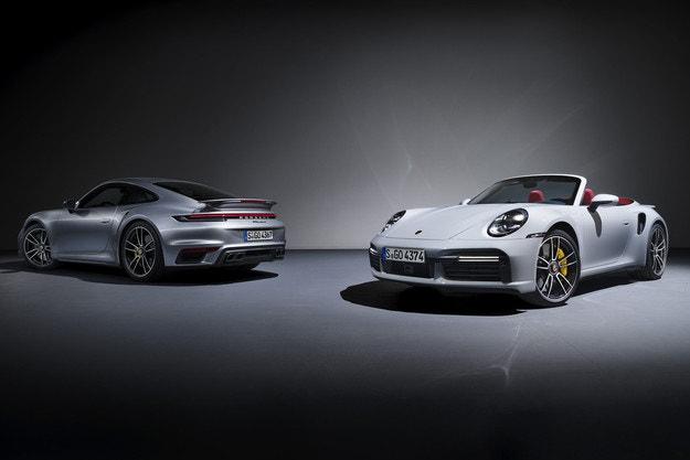Porsche 911 Turbo S с два нови пакета