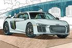 Audi предлага книжка за оцветяване за децата